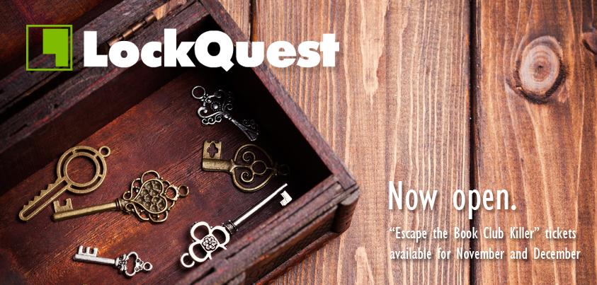 LockQuest Now Open escape game Toronto
