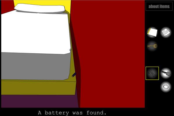 Crimson Room - battery