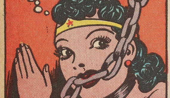 Wonder Woman old school classic secret history
