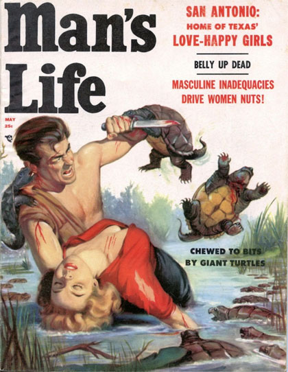 Man's Life Torn to Shreds by Giant Turtles