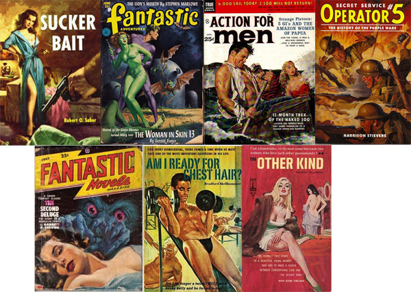 common pulp fiction genres