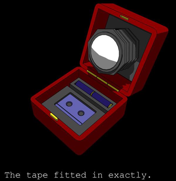 Crimson Room - tape