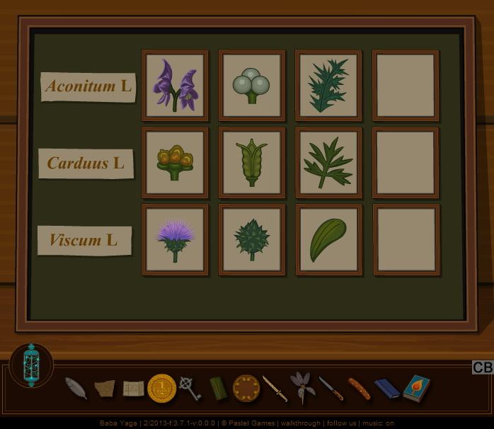 Baba Yaga plant calendar