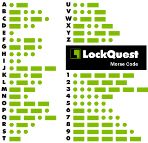 Morse code dot dash translate cryptography LockQuest Puzzled Pint