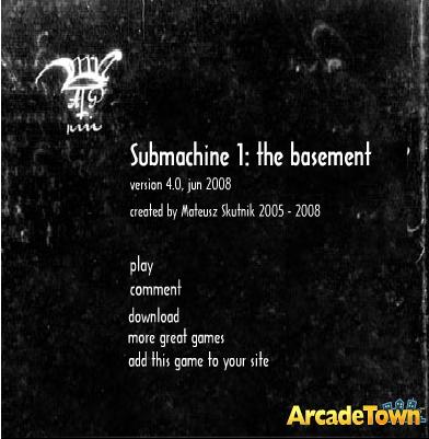 Submachine 1 title screen