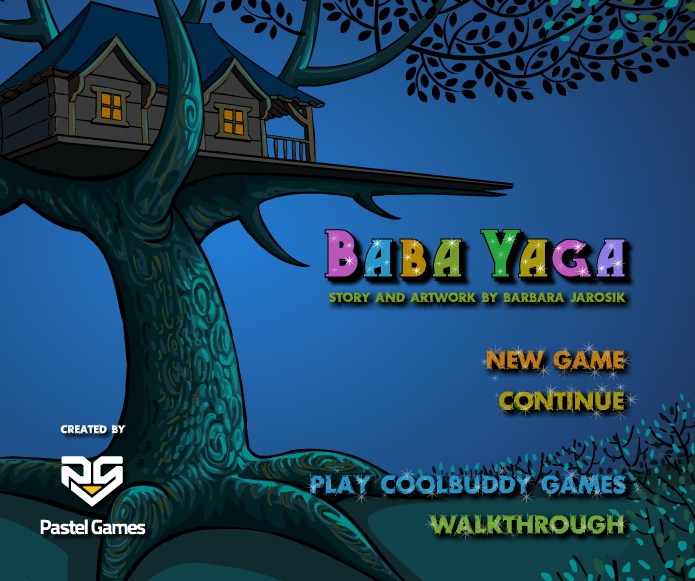Baba Yaga room escape game