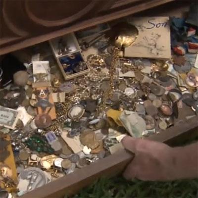 Man Finds Cache of Cash in Dresser Stash
