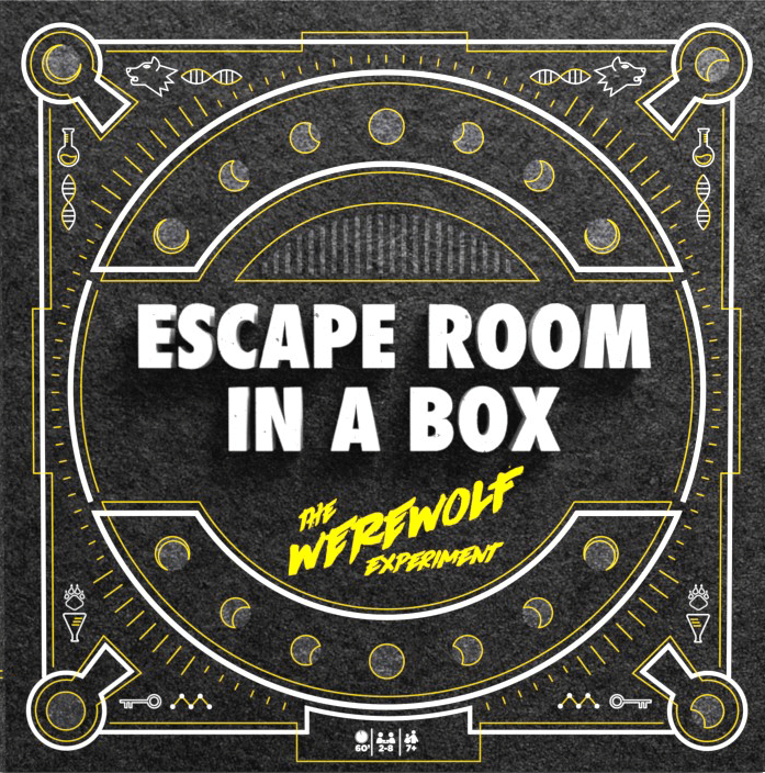 LockQuest - Escape Room in a Box: The Werewolf Experiment escape the room board game in a box cover image