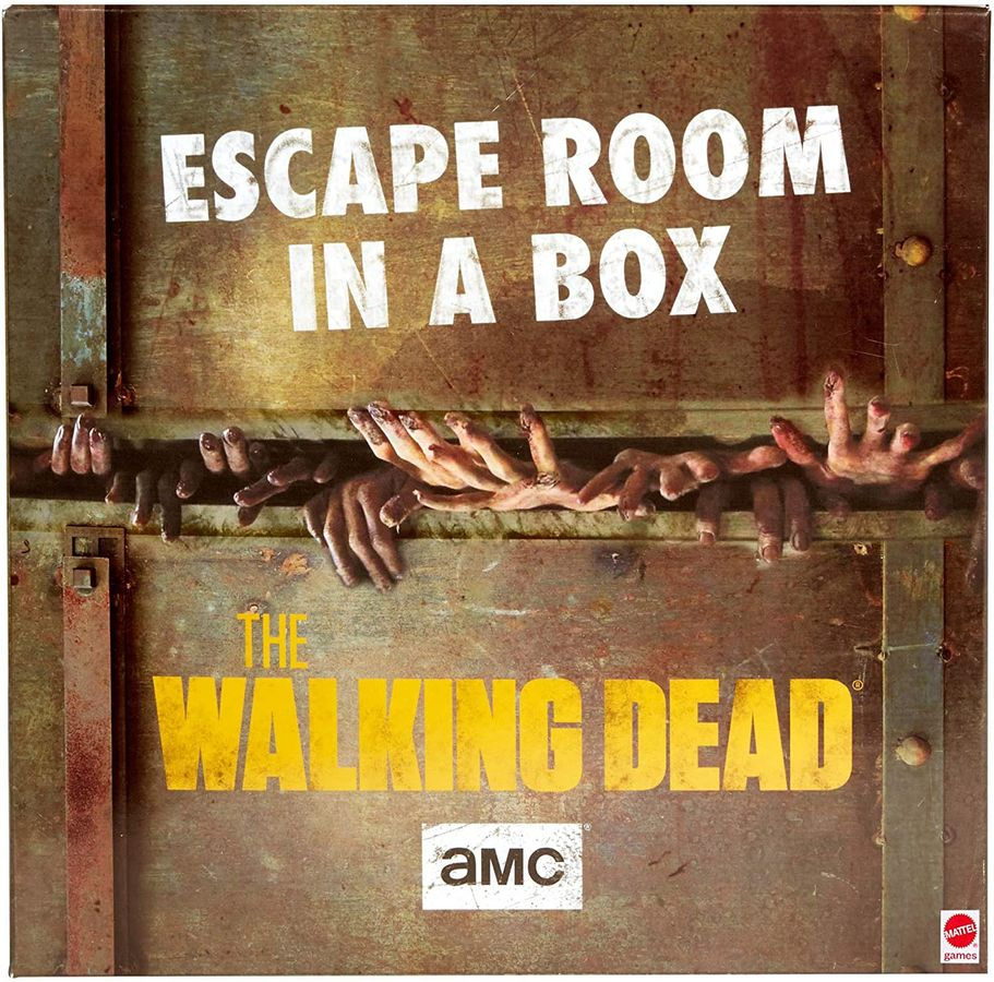 LockQuest - Escape Room Board Game in a Box: The Walking Dead escape the room board game in a box cover image