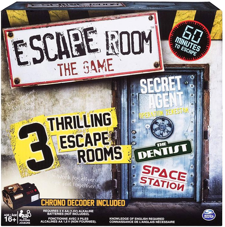 LockQuest - Escape Room: The Game (Escape Rooms II) escape the room board game in a box cover image