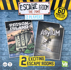 LockQuest - Escape Room - The Game - 2 Player escape the room board game in a box cover image