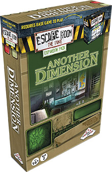 LockQuest Escape Room: The Game - Another Dimension escape the room board game in a box cover image