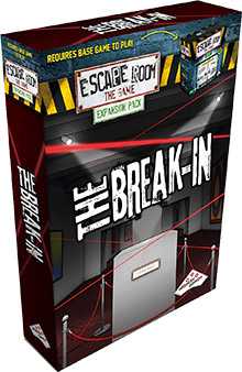 LockQuest Escape Room: The Game - The Break-In escape the room board game in a box cover image