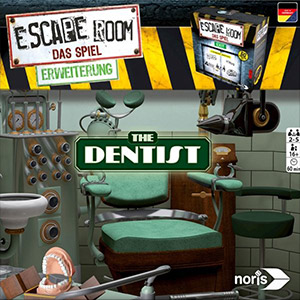 LockQuest - Escape Room: The Game - The Dentist escape the room board game in a box cover image