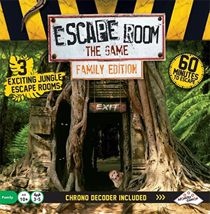 LockQuest - Escape Room: The Game - Family Edition escape the room board game in a box cover image