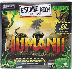 LockQuest Escape Room: The Game - Jumanji escape the room board game in a box cover image