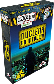 LockQuest Escape Room: The Game - Nuclear Countdown escape the room board game in a box cover image