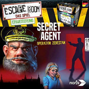 LockQuest - Escape Room: The Game - Secret Agent escape the room board game in a box cover image