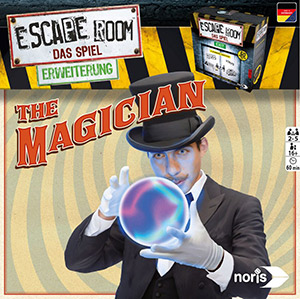 LockQuest - Escape Room: The Game - The Magician escape the room board game in a box cover image