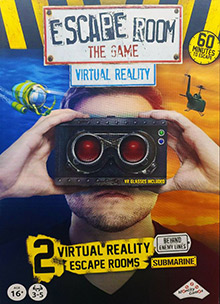 LockQuest Escape Room: The Game - Virtual Reality escape the room board game in a box cover image