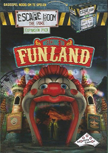 LockQuest - Escape Room: The Game - Welcome to Funland escape the room board game in a box cover image