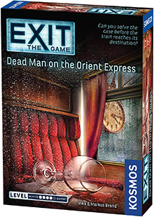 Exit: The Game - Dead Man on the Orient Express escape the room board game in a box cover image