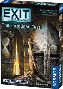 LockQuest Exit: The Game - The Forbidden Castle escape the room board game in a box cover image