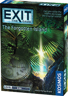 LockQuest Exit: The Game - The Forgotten Island escape the room board game in a box cover