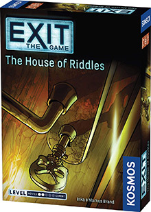 LockQuest Exit: The Game - The House of Riddles escape the room board game in a box cover image