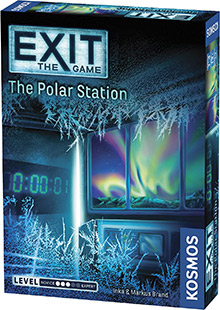 Exit: The Game - The Polar Station escape the room board game in a box cover image