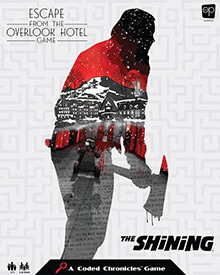 LockQuest The Shining: Escape from the Overlook Hotel escape the room board game in a box cover image