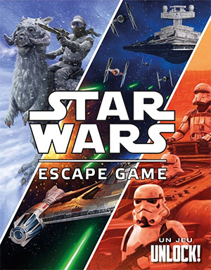 LockQuest - Unlock! Star Wars Escape Game escape the room board game in a box cover image